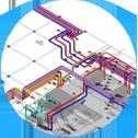 Проектирование инженерных систем и сетей, конструкций